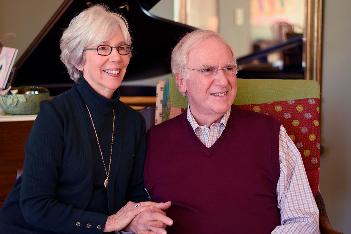 Judy and Henry Goldman